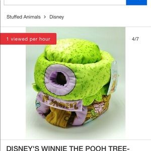 Winne the Pooh tree house